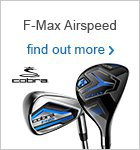 Cobra F-Max Airspeed Irons