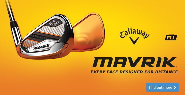 Callaway Mavrik Irons