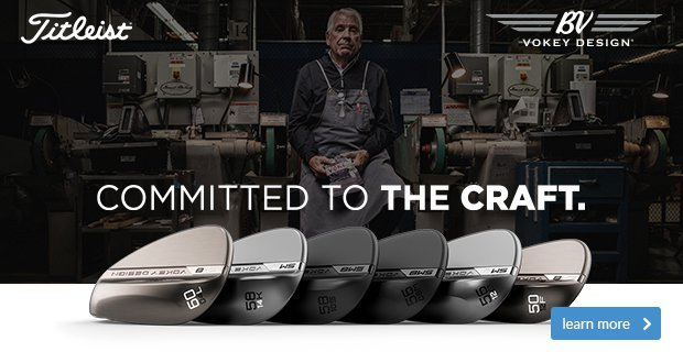 Titleist Vokey SM8 Wedges - Committed to the craft
