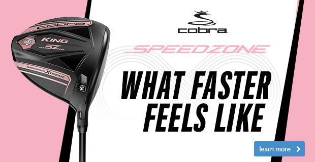 Cobra King SpeedZone Women's Woods