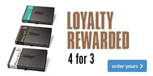 Titleist Loyalty Rewarded (Plain) Save £42.99
