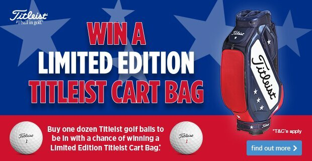 Win a Titleist Limited Edition Bag