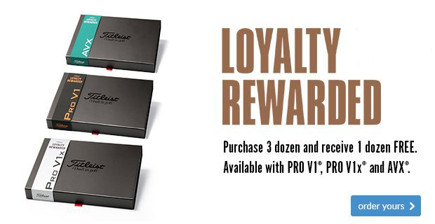 Titleist Loyalty Rewarded (Plain) Save £44.99