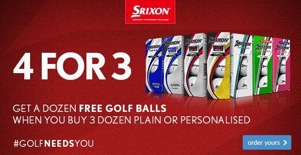 Srixon 4 For 3 From £22.99
