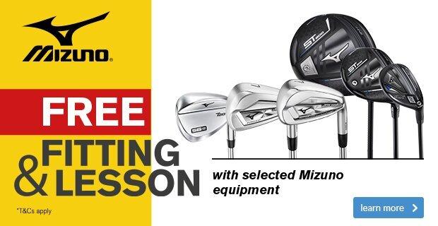 CES Mizuno - FREE Fitting & Free Lesson