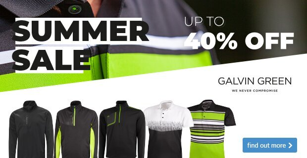 Galvin Green Summer Sale - Black Lime
