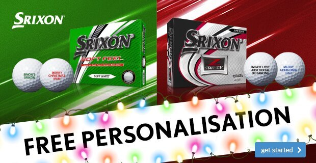 Srixon Christmas Ball Personalisation from €24