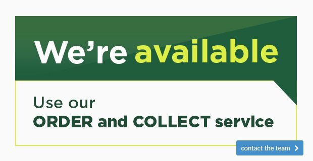 We're Available - Use Our Order & Collect Service