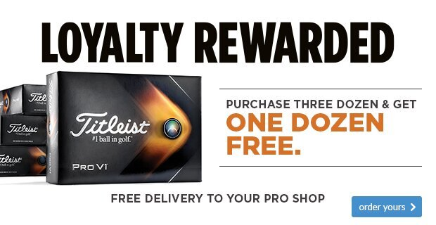Titleist Loyalty Rewarded - SAVE £49.99