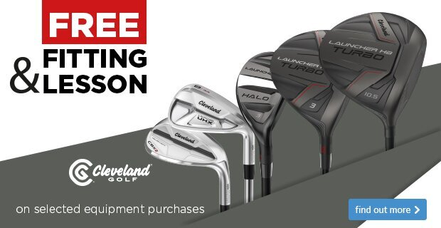 Free Fitting & Free Lesson with Cleveland Clubs