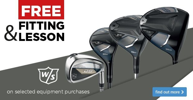 Free Fitting & Free Lessn with Wilson Clubs
