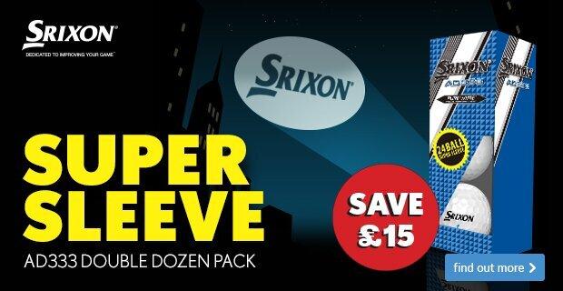 Srixon Super Sleeve AD333 Pack