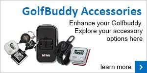 GolfBuddy accessories range