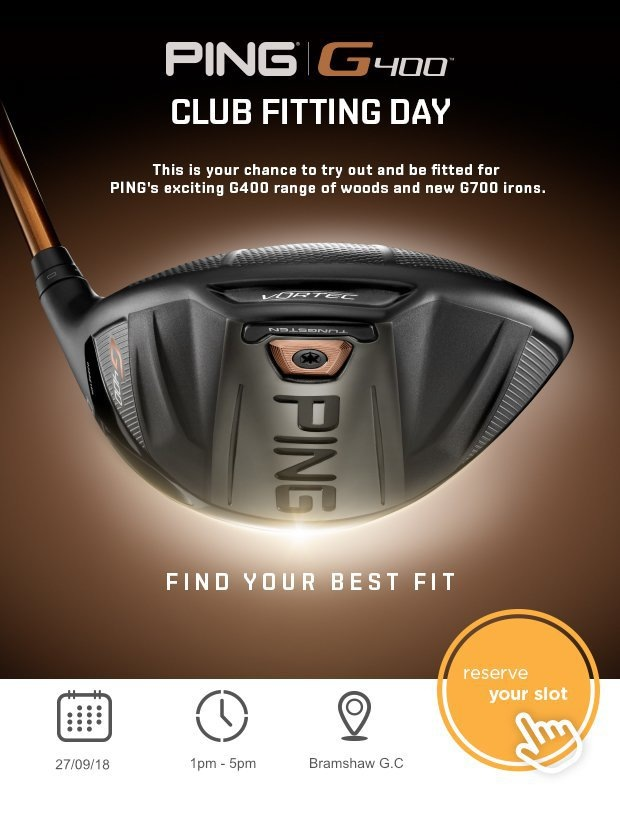 Join us for our PING Fitting Day…
