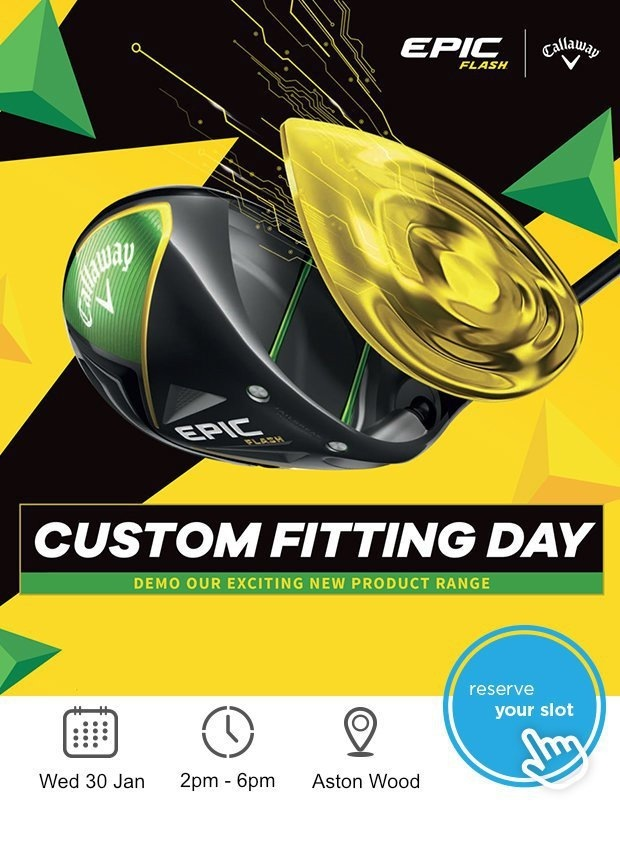 Callaway fitting day - don't miss out!