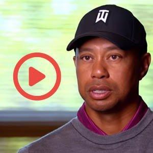 Tigers Woods on Amen Corner