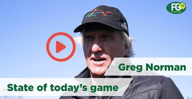 Greg Norman Interview