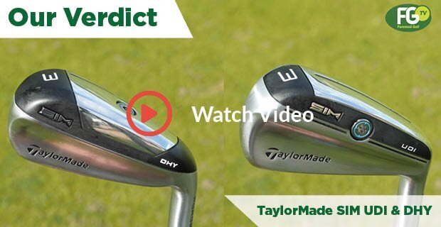 TaylorMade SIM UDI and DHY review