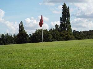 Red Hole 5 Green