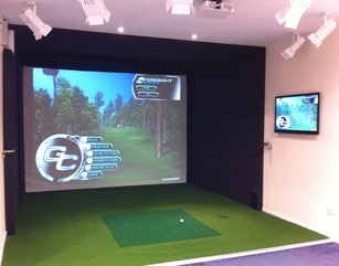 Simulator at Tyrells Wood Golf Club