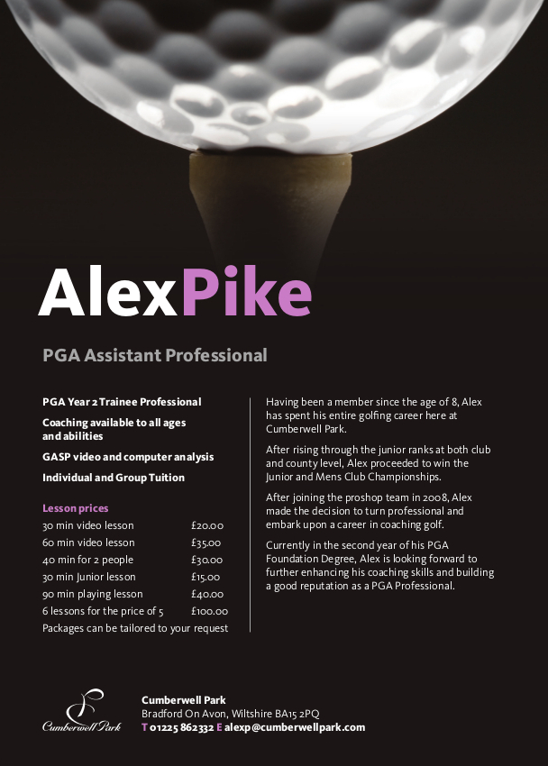 alex pike lesson fees