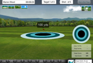 FlightScope Skills Application Targets