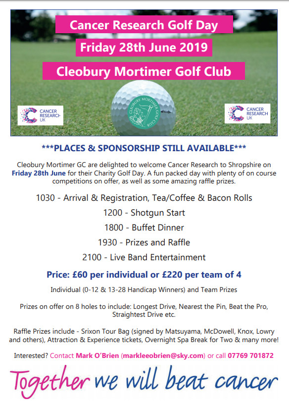 Chairty Golf Day
