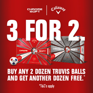 Callaway 3 for 2 on TruVis
